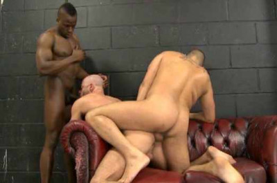 Raw Interracial Anal With Brutal Men
