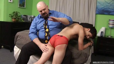Dad Spanks Boy Hard