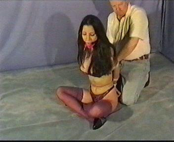 She kept on moving around the floor, not anymore caring if her underwear is seen