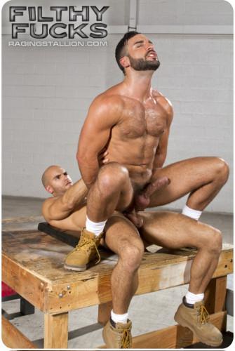 Filthy Fucks, Scene 4: Abraham Al Malek, Sean Zevran