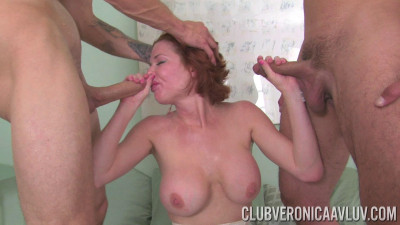Veronica Avluv — Anal Dp With Chris And Tony (2015)