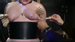 Clips On Her Tits