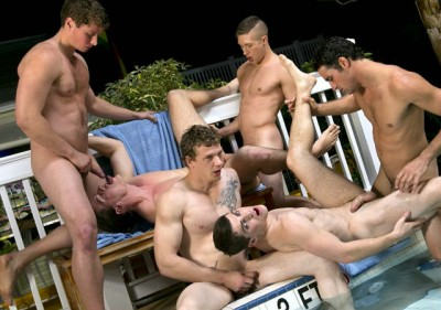 Dallas Reeves - Hungry Jock Orgy Part2