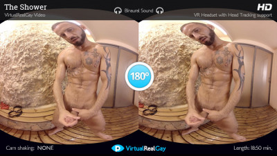 Virtual Real Gay — The shower