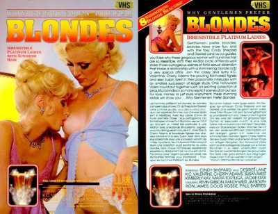 Description Why Gentlemen Prefer Blondes
