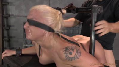 Rough Blindfolded Sex And Brutal Deepthroat