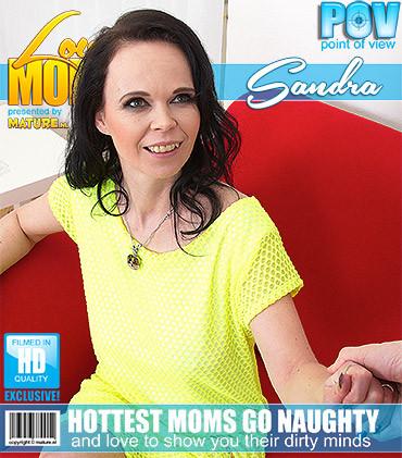 Sandra Q - Horny mom fucks in POV style HD 720p