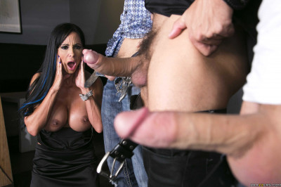 Hot Busty MILF Decides To Take Them On With Every Hole She's Got
