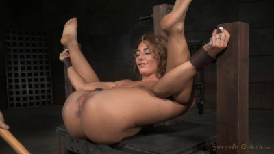 Epic Bondage Squirtfest Savannah Fox Roughly Fucked