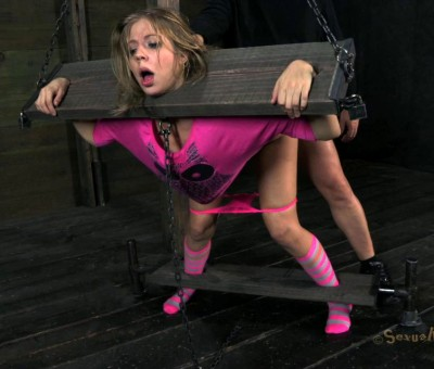 SB - Little Chastity Lynn is roughly fucked in pink! - February 1, 2013 - HD
