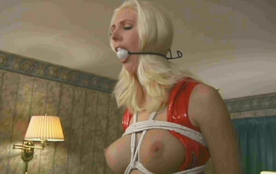 Bound Amazon Beauty Slave Anne