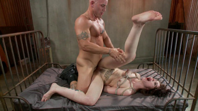 Fuckedandbound – 11-15-2013 – Tattooed Slut Gets Fucked Down