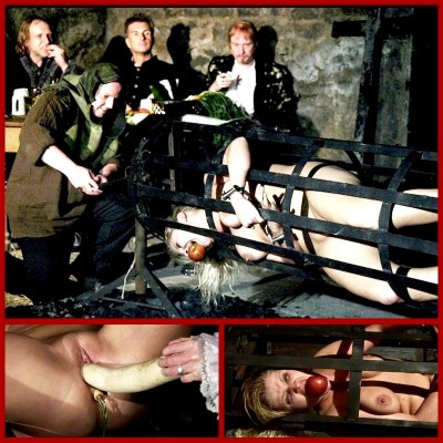 Wench Magda Endures Extreme Food Play - BrutalDungeon
