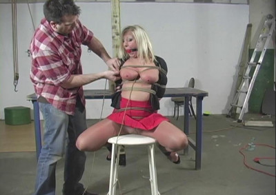 Crystal Frost Begs For Tight Bondage – Part 1