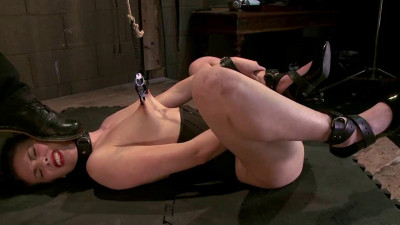 Slave Training For A Cute Brunette 4 Of 4