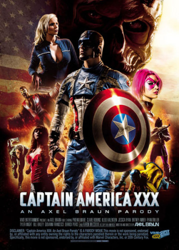 Captain America XXX An Axel Braun Parody (2015)