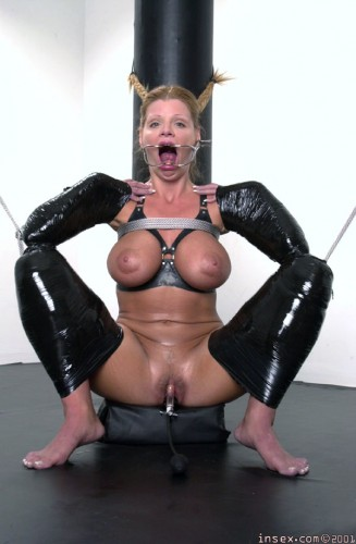 Hardtied - Sharon in Rubber - October 2, 2005