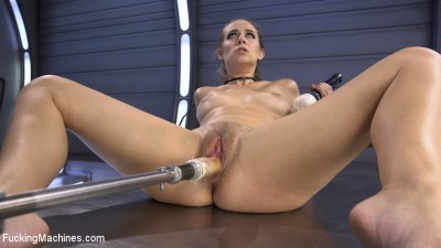 Mind Blowing Orgasms from Fucking Machines and Anal!!