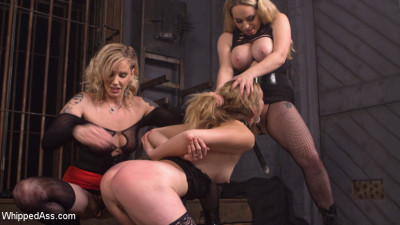 Maitresse Madeline And Aiden Starr Haze, Domme And Fuck Mona Wales