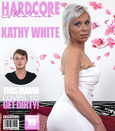 Kathy White – Naughty housewife doing her toyboy HD 720p