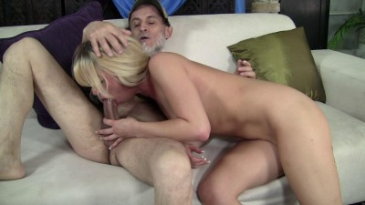 Pretty blonde babe fucked viciously