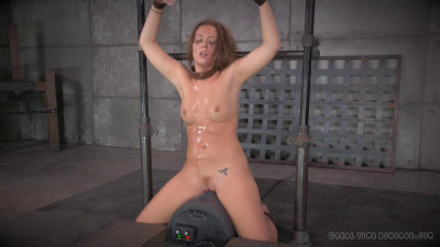 Messy Maddy O'Reilly destroyed by dick, brutal deepthroating, cums hard on sybian! (2014)