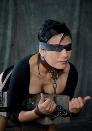 Strict bondage and brutal bdsm sex
