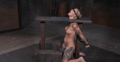 Kleio Bound On Sybian With Drooling Destroyed Deepthroat