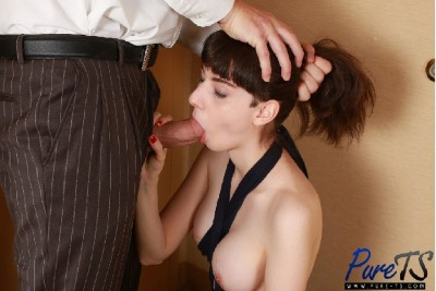Pure TS – Sue Lightning Wants to Suck Cock Before Her Date