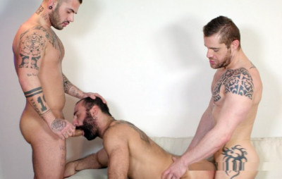 Hot Threesome Aday Traun, Isaac Eliad & Paco (720p)