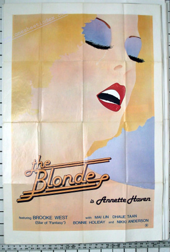 The Blonde (Elliot Lewis, Harry Lewis, VCX)