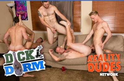 Dick dorm flip cup Bareback FuckFest