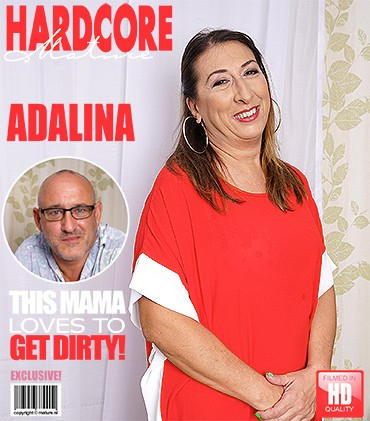 Adalina — Horny older lady fucking and sucking FullHD 1080p
