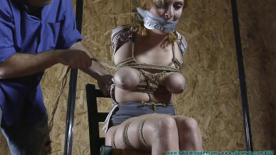 CrotchRope – Ashley Graham Hogtied In Jute – Part 3