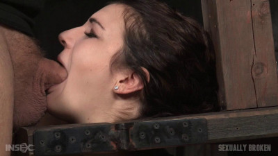 Endza Adair - Drooling and destroyed girl next door facefucked without mercy by BBC (2015)