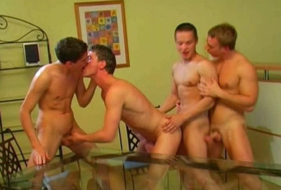 4 Boys And 4 Cocks
