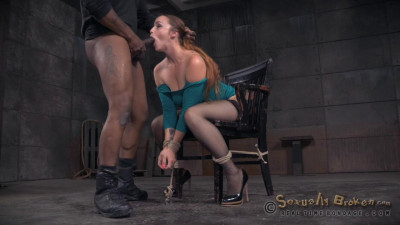 Big Breasted Bella Rossi Bound Brutal Shackled Rough Sex Deepthroat While Vibrated (2015)