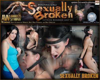 India Summer: The ultimate MILF is bound on the world's only face fucking machine and on a sybian!