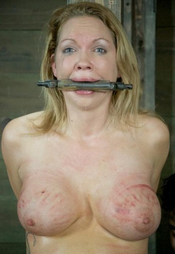 Perfect blonde for BDSM