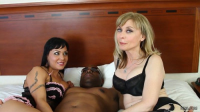 Nina Hartley and Mahina Zaltana — Kinky BBC Threesome