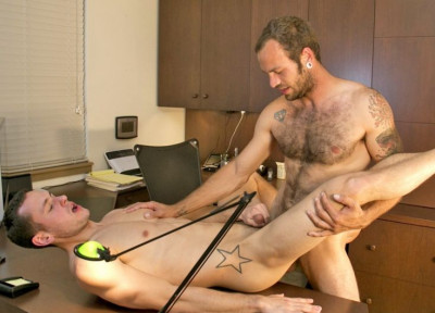 Bareback Office Fuck Staring Maxx Fitch And Dalton Pierce