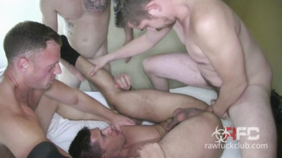 Derrick Hanson, Adam Avery, Aarin Asker and Billy Warren