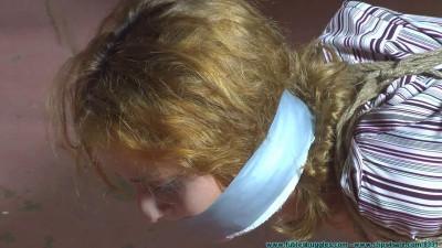 CrotchRope – Ashley Graham Hogtied In Jute – Part 3