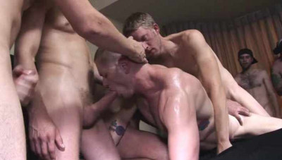 Viral Gangbang With DP
