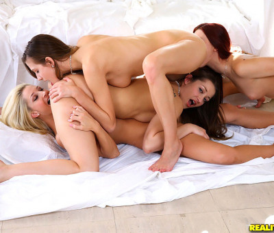 Hot Babes Had An Intense Orgy With Multiple Orgasms