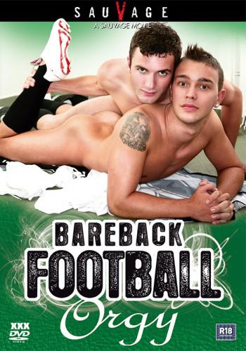Bareback Football Orgy!