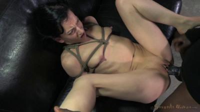 Tiny Elise Graves Ragdoll Fucked Bondage (2014)