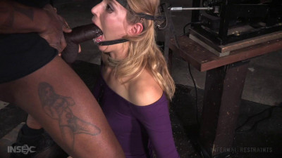 Mona Wales - Beautiful blonde bound to blowjob machine and sybian for massive sexual overload (2015)