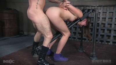 Zoey Laine BaRS Part 2 – Head Locked Between Two Bars, And Roughly Fucked