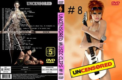 Uncensored & Uncut Music Videos # 8 DVD5 2010